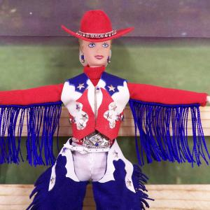 Rodeo Queen doll