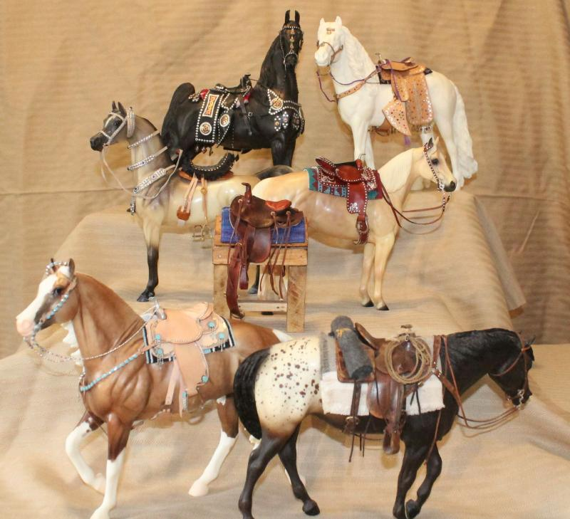 Teke, Western and Parade Saddle sets